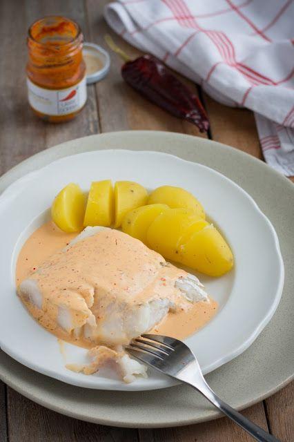 Chic, chic, chocolat...: Cabillaud sauce moutarde au piment d'Espelette