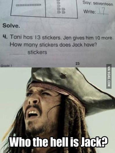 WTF maths