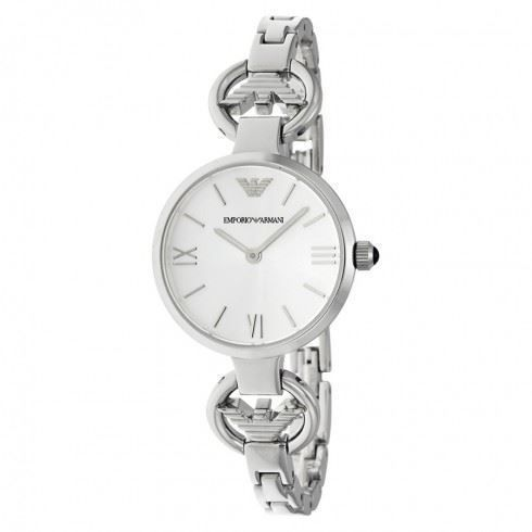 Emporio-Armani-Ladies-Watch-Stainless-Steel-Strap-Silver-Dial-AR1772