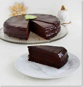 Gizi-receptjei.  Várok mindenkit.: Sacher-torta.