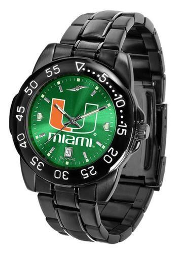 University of Miami Hurricanes Watch Fantom AnoChrome Men's Watch