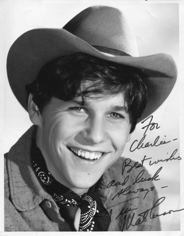 Tim Matheson....I had the BIGGEST crush on him when I was in high school!