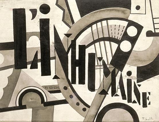 Fernand Léger - L'Inhumaine 1923