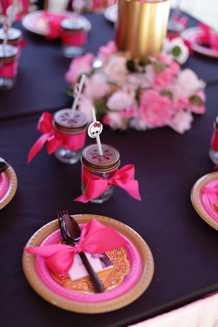 Chic Monster High Party with Such AWESOME Ideas via Kara's Party Ideas | KarasPartyIdeas.com #MonsterHighDollParty #Party #Ideas #Supplies
