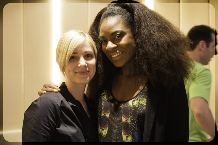Canadian Juno Award Winner Singer Jully Black and ME! Great day with our @Fit Your Style Jennifer Ettinger and KHAMP MEDIA