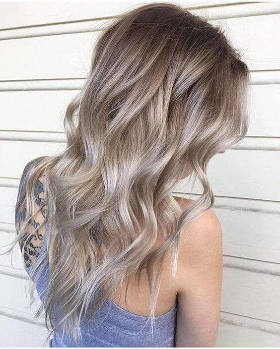 Hair Color Ideas 2019 Ash 50 Ash Blonde Hair Color Ideas 2019   Hair ideas   Dark blonde