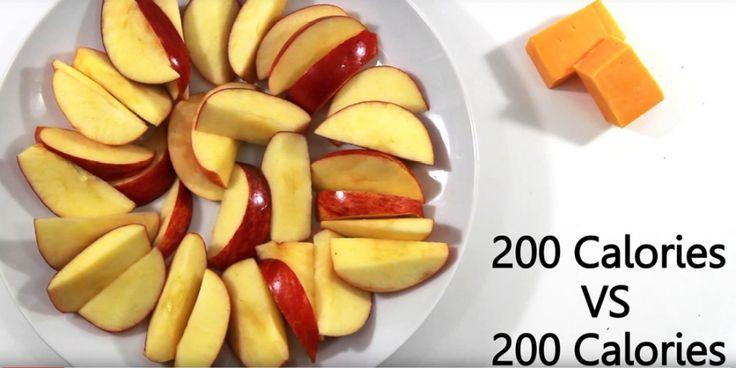 Zo zien 200 calorieën van verschillende foods er uit | Women's Health
