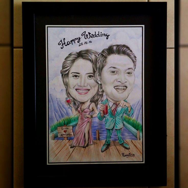 #Caricature #Karikatur #wedding #gift #anniversary #birthday #Jakarta #Medan #Batak #Culture #art #Drawing #Indonesia #Order Follow my Instagram : rookuli_art FB : Rokalih Inna Parrantangan