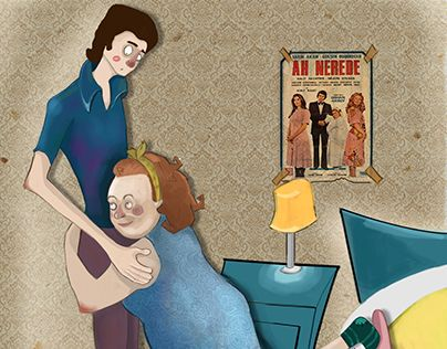 """Check out new work on my @Behance portfolio: """"ah nerede"""" http://be.net/gallery/31117929/ah-nerede"""