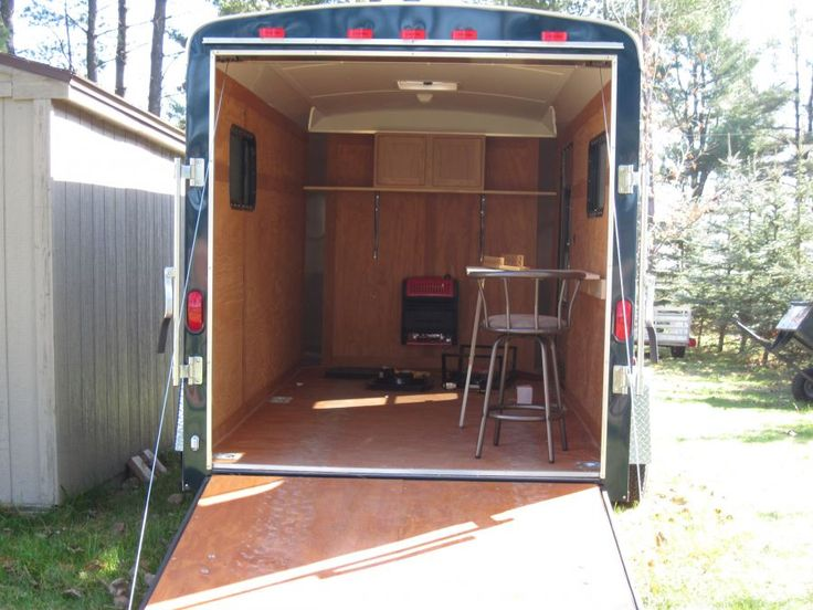 Enclosed Trailer Fish House Outfit Your Bov With Our