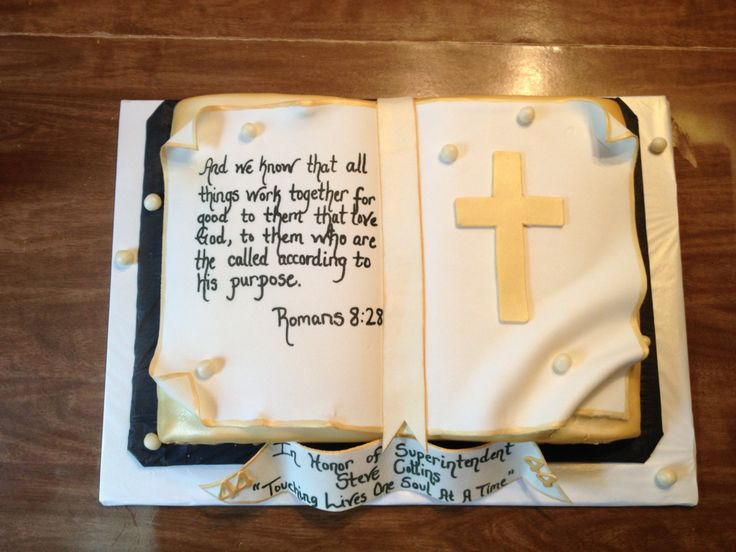 Made for Superintendent Steve Collins for his Pastor Anniversary!