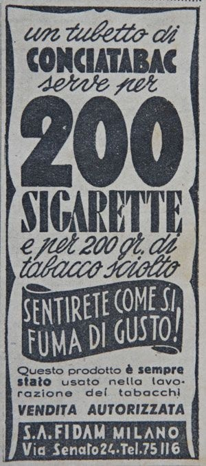 200 sigarette