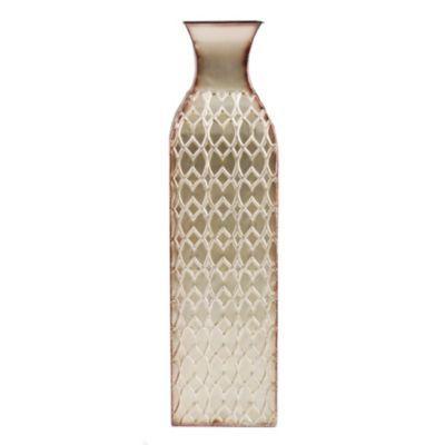 Champagne Corrugated Floor Vase Master Bedroom Room