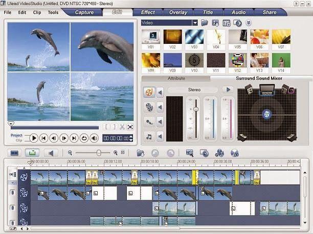 Ulead MediaStudio Pro 8 Screenshots
