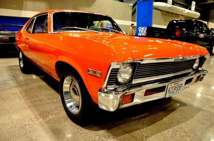 72 chevy nova love orange novas dream garage for Garage auto orange