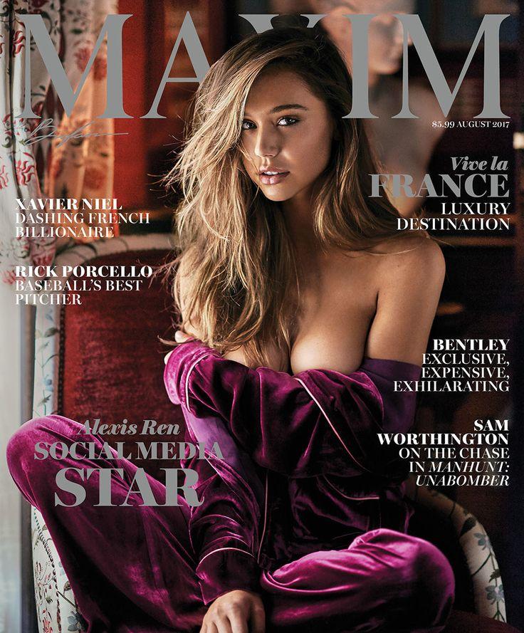 Maxim cover model Alexis Ren defends risqué bikini pics