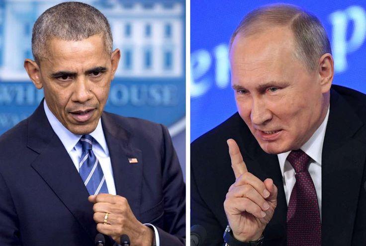 Barack Obama et Vladimir Poutine.
