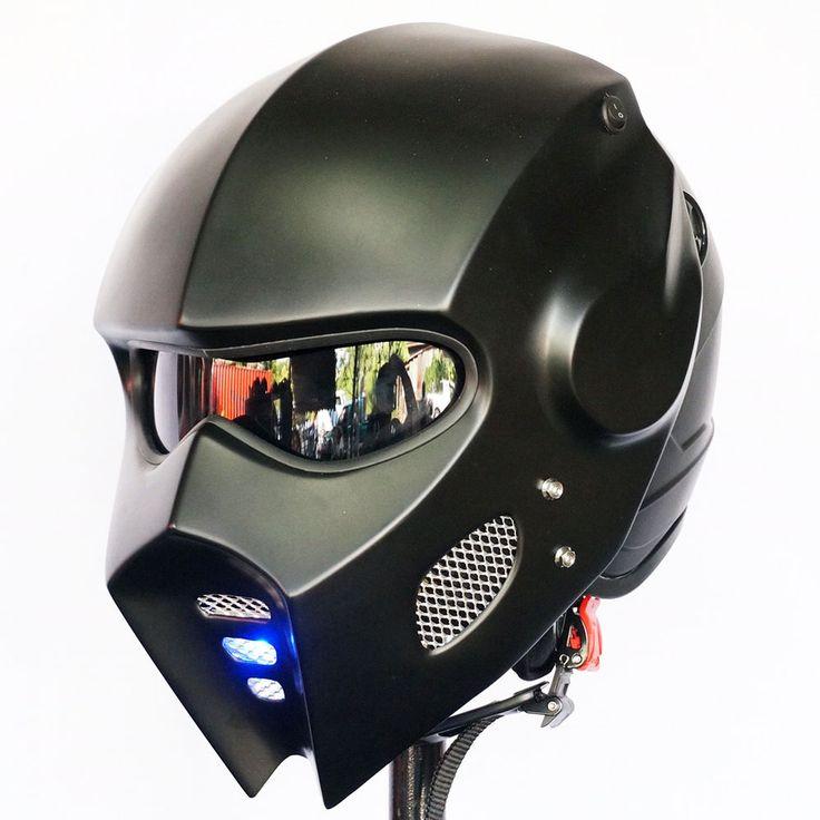 Particulars about Casco Wing Bike Open Face Helmet Matte Black Mild Customized Hero Uncommon Moto