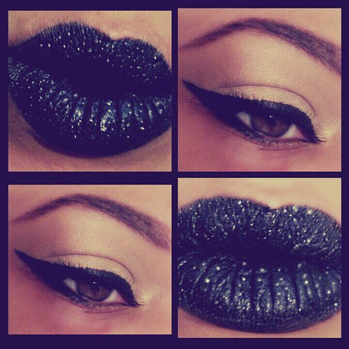 Black. #makeup