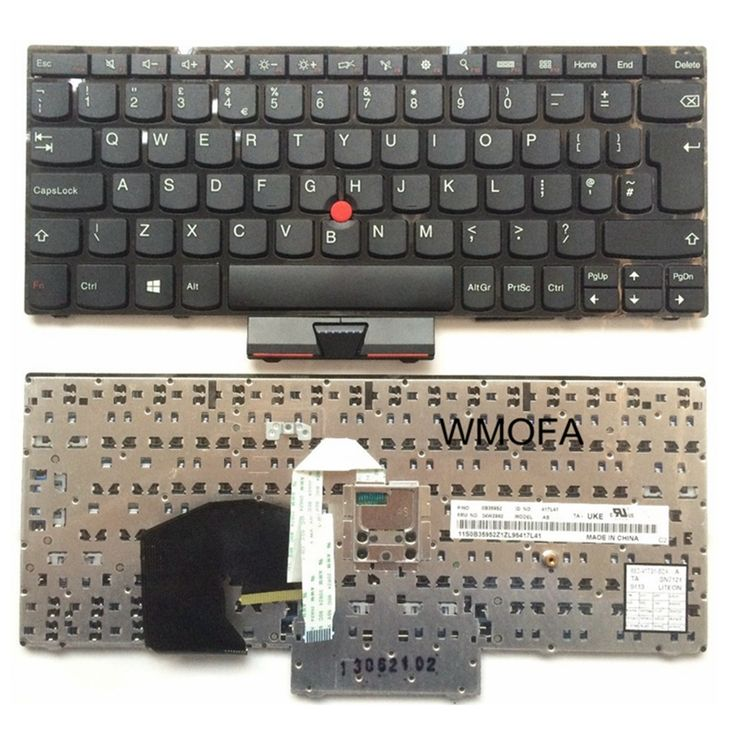 UK Black New English Replace laptop keyboard For Lenovo Thinkpad S230 S230U S230I E230 E230S With pointing sticks #Affiliate
