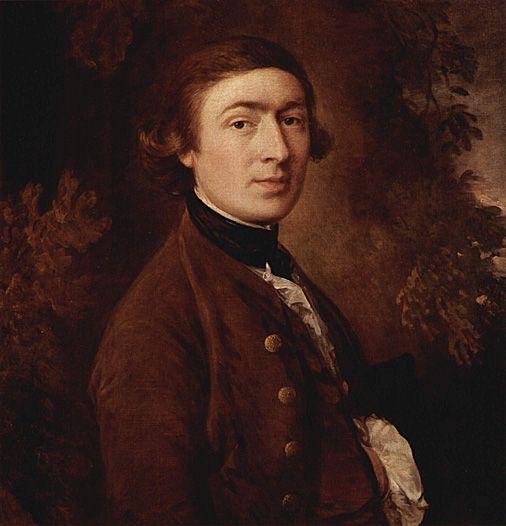 Self Portrait of Thomas Gainsborough