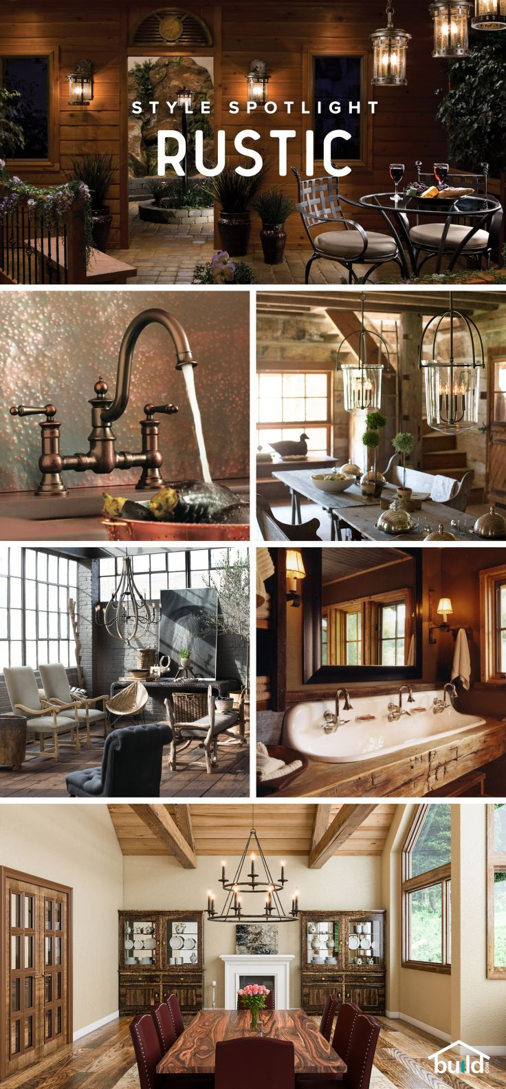 Rustic Design Ideas: 396 Best Vintage/Rustic/Country Home Decorating Ideas
