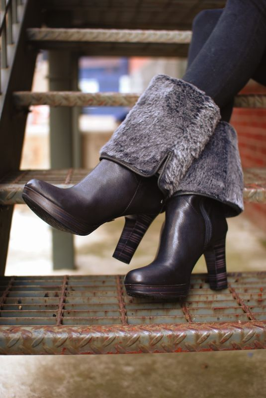 UGG Australia's high heeled boot for women - the #Savoie #TheNextStep #Fall