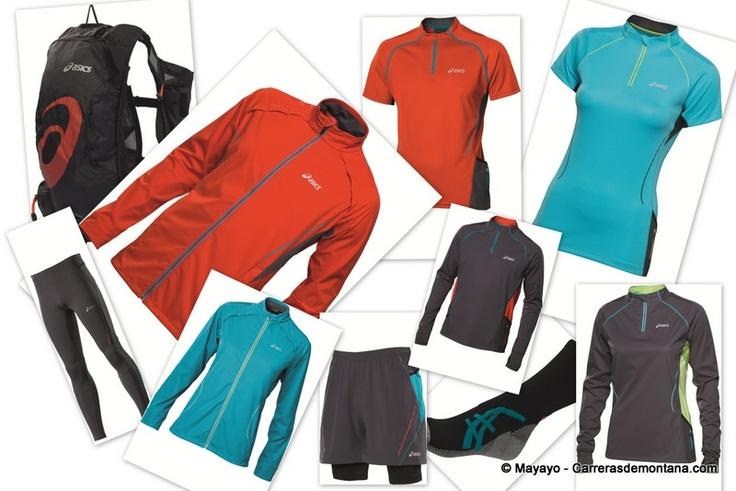 Ropa Running Asics Trail: Catálogo Otoño Invierno 2012. Van remontando los japoneses. No son aún punta de lanza pero ya tienen buena relación calidad-precio en todos sus productos. Aquí detalle y análisis de cada uno: http://carrerasdemontana.com/2012/10/04/running-asics-catalogo-ropa-trail-running-2012-camisetas-mallas-y-pantalones-de-asics-trail/