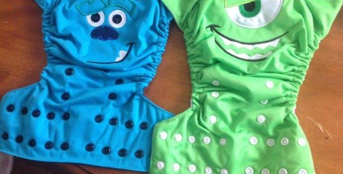 Coolest Cloth Diapers EVER #clothdiaper #ellabellabum