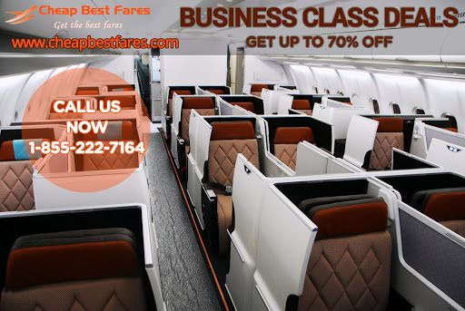 Cheap Business Class Flights, Discount Tickets & Deals - CheapBestFares.com Great Savings on International Business and First Class Tickets. Call Today US: 1-855-222-7164 #flightBooking #CheapFlights #BestFlightDeals #lowfares #bestfare #travel #flights