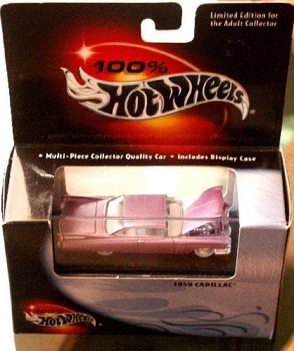100 Hot Wheels 1959 Cadillac By Mattel 2495 In