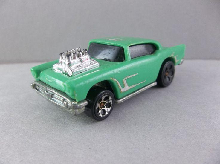 Hot Wheels 1976 1957 Chevy Chevrolet Plastic Cast Car   #HotWheels #Chevrolet #Chevy #Teal #Plastic #1957Chevy #eBay