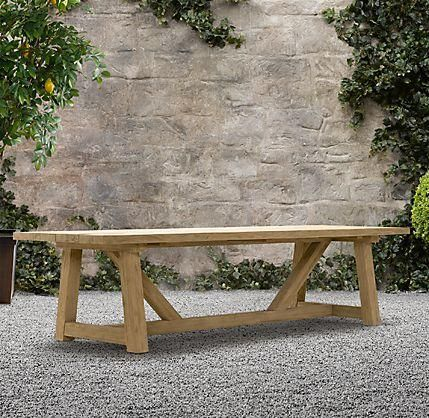Provence Beam Rectangular Dining Table at Remodelista