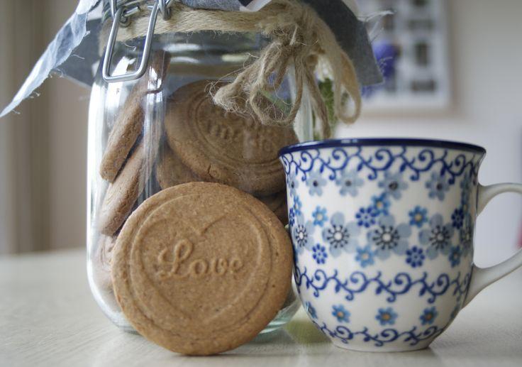 Supermakkelijk te maken zandkoekjes met volkoren (spelt)meel. #suikervrij #koekjes #kokosbloesemsuiker #speltmeel