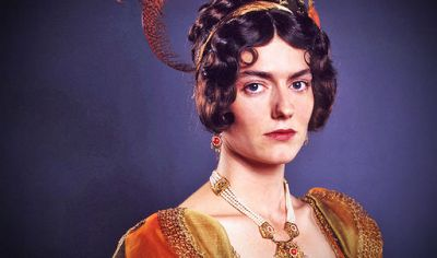 Anna Chancellor | Anna Chancellor as Miss Bingley in P&P