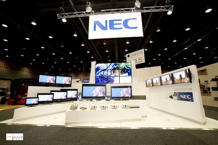 NEC @ CEDIA This stand promotes NEC's latest home entertainment technology to professional audio visual resellers in this annual conference