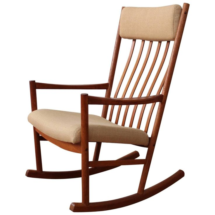 Danish Modern Teak Rocking Chair 55 best