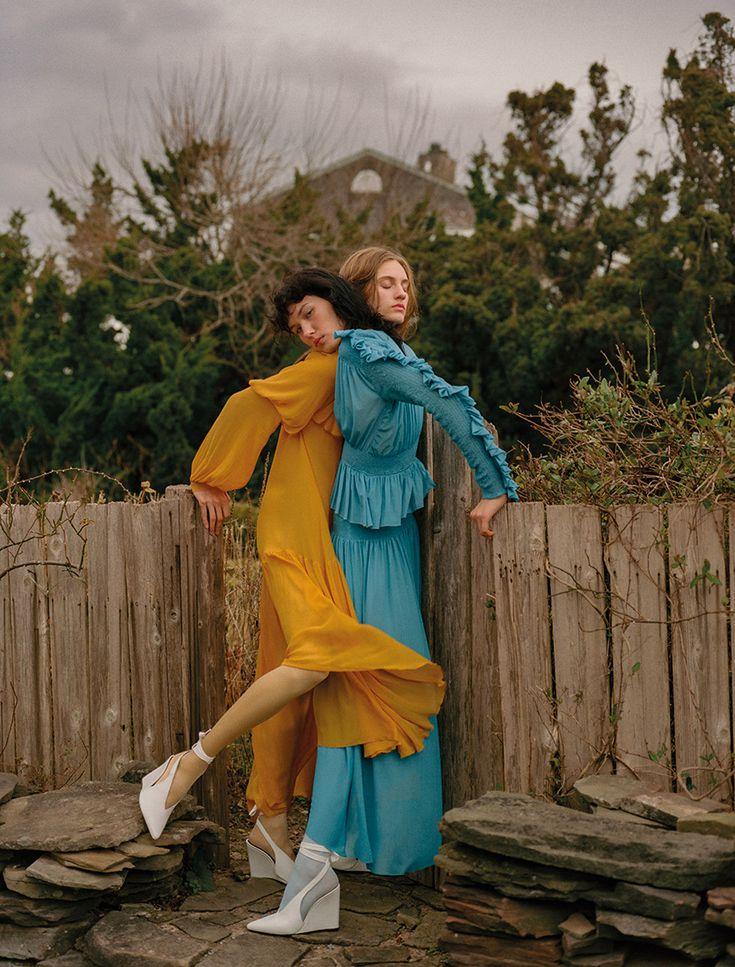 ANGÉLICA ERTHAL & SARAH BERGER PHOTOGRAPHED BY ZEE NUNES
