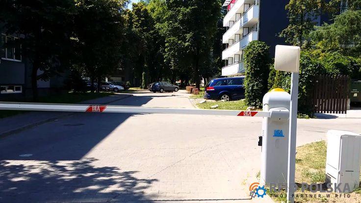 System parkingowy RFID kontrola dostępu pojazdów