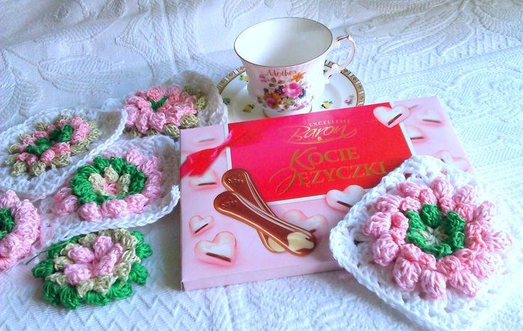 słodka poduszka bawełna