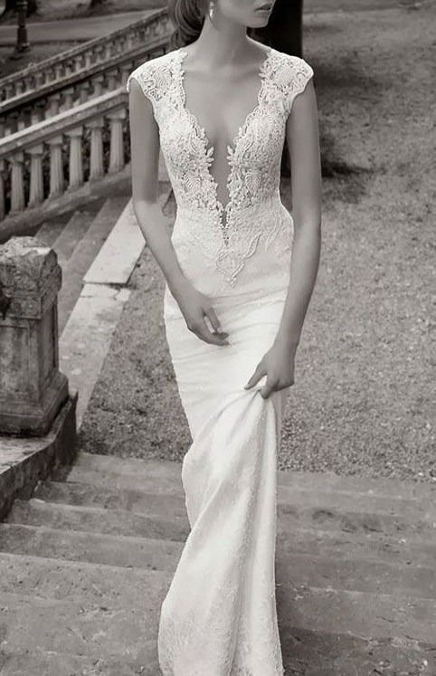 Skin tight wedding dress dress pinterest for Skin tight wedding dresses