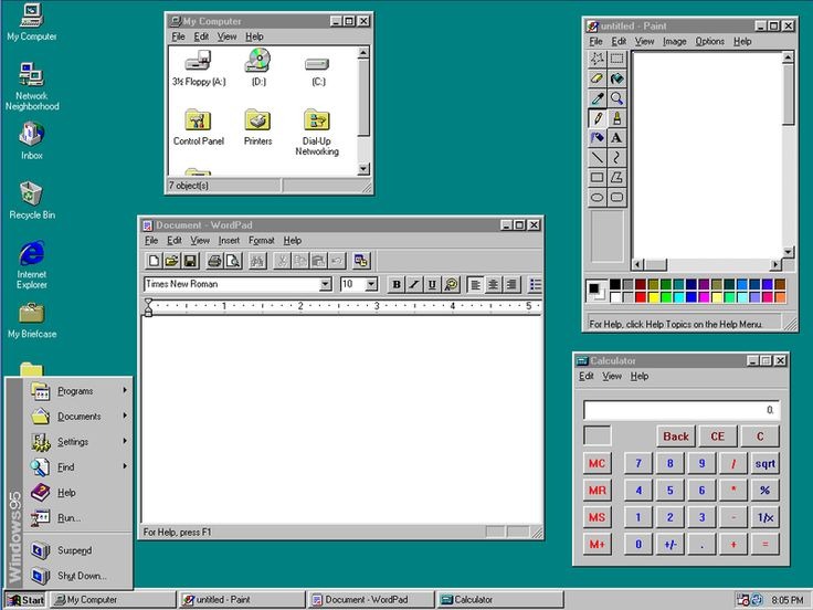 19950824 Windows 95 released Picsart tutorial