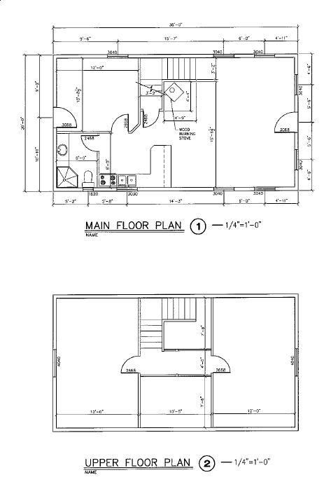 20 x 36 in central utah floor plans pinterest utah for Log siding house plans