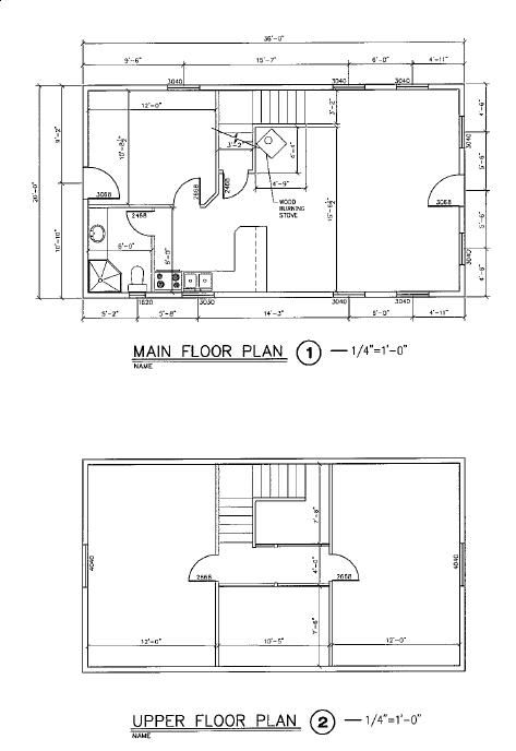 129 best images about floor plans on pinterest cabin for 16x32 2 story house plans