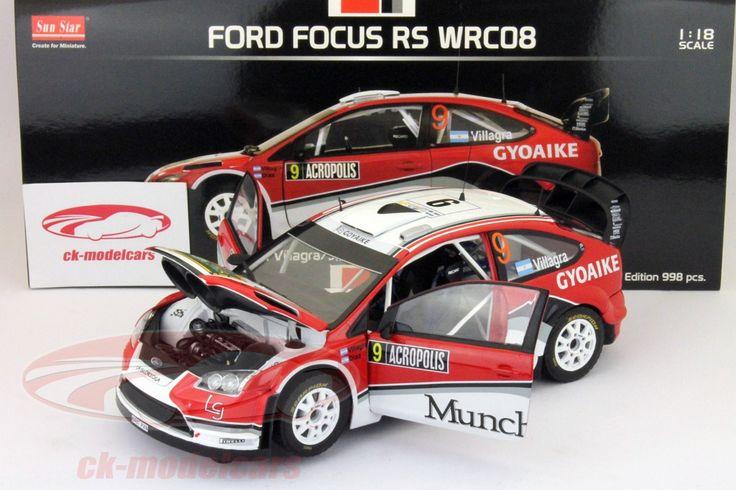 Ford Focus RS WRC08, Rally Acropolis 2009, No.9, F,Villagra / J.Diaz. Sun Star Models, 1/18, Limited Edition 998 pcs. Price (2016): 35 EUR.