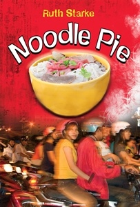 Noodle Pie for children age 10 and up. Earned the Speech Pathology Australian Book of the Year Award, the USBBY Outstanding International Booklist, the Bank Street College of Education Outstanding Books, and the Best Book Society of School Librarians International award.
