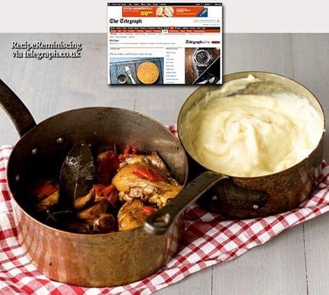 Chicken With Sherry, Garlic and Bell Peppers / Kylling Med Sherry, Hvitløk og Paprika