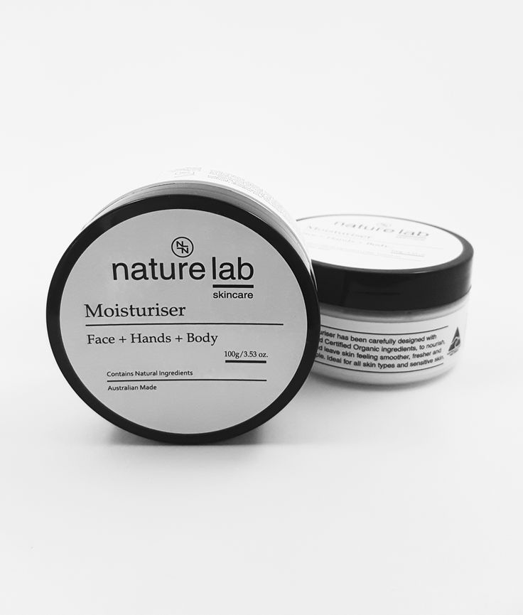 This moisturiser has been carefully formulated with natural