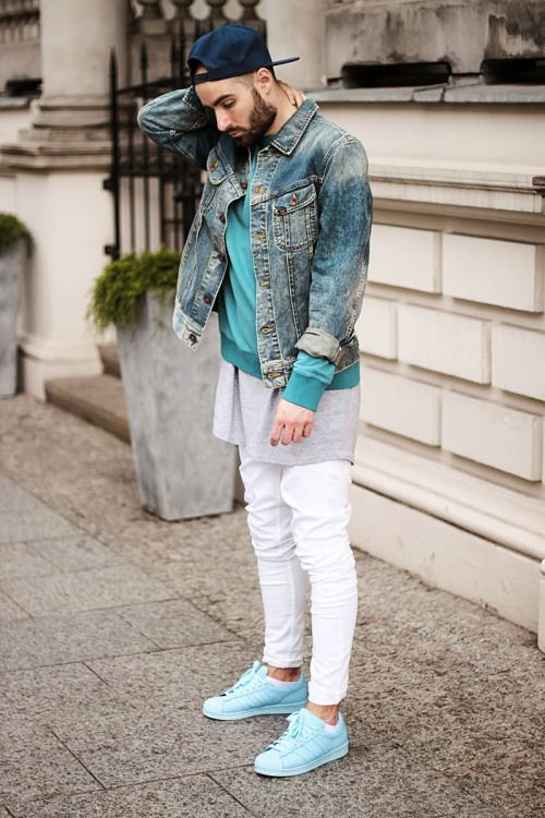 Beard Street Style Mens Fashion