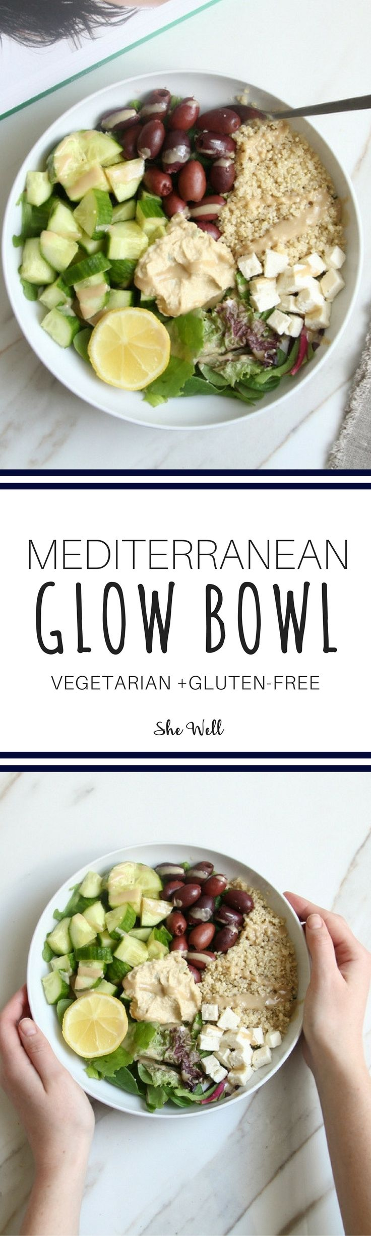 This is the perfect lunch or dinner recipe and packs perfectly for work or school! Great for people who are vegan, vegetarian & gluten-free. Click to read now or pin for later!